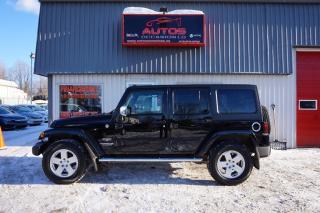 Used 2011 Jeep Wrangler Sahara 4x4 6 Vit for sale in Lévis, QC