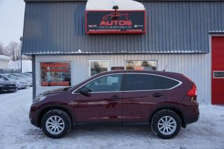 Used 2015 Honda CR-V LX AWD for sale in Lévis, QC