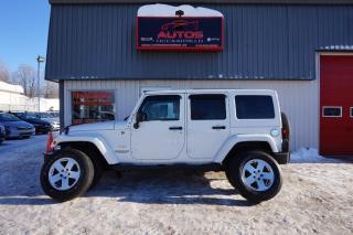 Used 2011 Jeep Wrangler Sahara Awd for sale in Lévis, QC