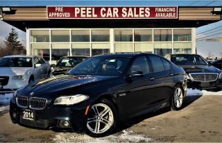 Used 2014 BMW 5 Series 528i xDrive|MSPORT|NAVI|MOONROOF| for sale in Mississauga, ON