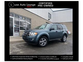 Used 2011 Ford Escape XLT - LEATHER, SUNROOF, HEATED SEATS, BLUETOOTH! for sale in Orleans, ON