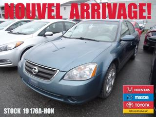 Used 2002 Nissan Altima for sale in Drummondville, QC
