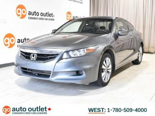 Used 2011 Honda Accord Cpe EX-L w/Navi; Heated Seats, Sunroof for sale in Edmonton, AB