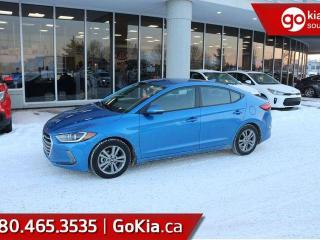 Used 2017 Hyundai Elantra GL; BLIND SPOT MONITORING, HEATED SEATS/WHEEL, BACKUP CAM, BLUETOOTH AND MORE for sale in Edmonton, AB