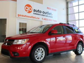 Used 2013 Dodge Journey SXT, Third Row 50 / 50 Fold / Reclining Seats, Air Conditioning with 3 Zone Temperature Control ,Heated Seats for sale in Red Deer, AB