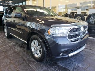 Used 2013 Dodge Durango SXT, BLUETOOTH, ACCIDENT FREE for sale in Edmonton, AB