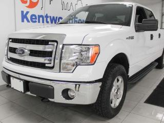 Used 2014 Ford F-150 XLT 4x4 in sparkling white. Such a delight for sale in Edmonton, AB