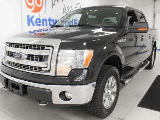 Used 2014 Ford F-150 XLT XTR package with keyless entry, power drivers seat, back up cam for sale in Edmonton, AB