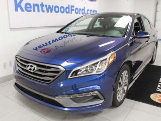 Used 2016 Hyundai Sonata Limited, power heated seats, heated steering wheel, sun roof, NAV, push start, and back up cam for sale in Edmonton, AB