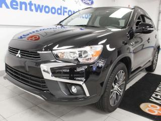 Used 2017 Mitsubishi RVR RVR AWC, NAV, sunroof, power leather seats, back up cam for sale in Edmonton, AB