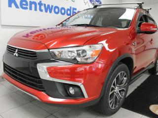 Used 2016 Mitsubishi RVR AWC, NAV, sunroof, power leather seats, back up cam for sale in Edmonton, AB
