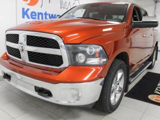 Used 2013 RAM 1500 RAM1500 with heated power seats, heated steering wheel and a gorgeous copper style orange for sale in Edmonton, AB