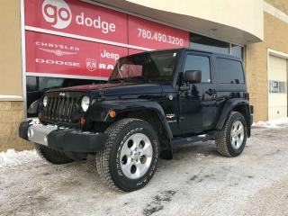 Used 2013 Jeep Wrangler Sahara 2-Door for sale in Edmonton, AB