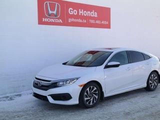 Used 2017 Honda Civic Sedan EX for sale in Edmonton, AB