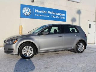 Used 2016 Volkswagen Golf 1.8 TSI TRENDLINE M/T - VW CERTIFIED / HEATED SEATS / BACKUP CAMERA for sale in Edmonton, AB