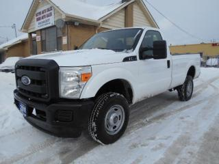 Used 2011 Ford F-350 XL 4X4 Regular Cab 8Ft Box 6.2L V8 Certified 191Km for sale in Rexdale, ON