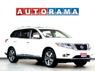 Used 2014 Nissan Pathfinder PLATINUM PKG NAVIGATION SUNROOF LEATHER 7PASS AWD for sale in Toronto, ON