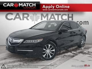 Used 2015 Acura TLX LEATHER / SUNROOF / 104KM for sale in Cambridge, ON