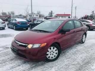 Used 2006 Honda Civic DX-G / *AUTO* / AC / POWER GROUP for sale in Cambridge, ON