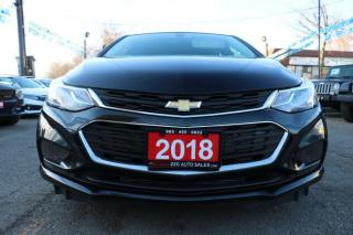 Used 2018 Chevrolet Cruze LT ACCIDENT FREE for sale in Brampton, ON