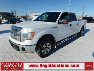 Used 2013 Ford F-150 XLT SuperCrew 4WD for sale in Calgary, AB