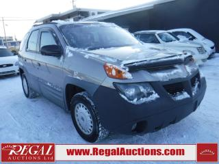 Used 2001 Pontiac Aztek 4D Utility 2WD for sale in Calgary, AB