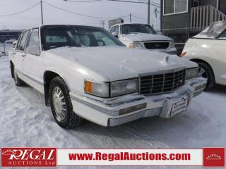 Used 1993 Cadillac DeVille 4D Sedan for sale in Calgary, AB