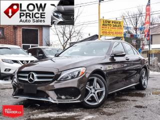 Used 2015 Mercedes-Benz C-Class AWD*BurmesterSound*Xenon*Panoramic*BlindSpot* for sale in Toronto, ON