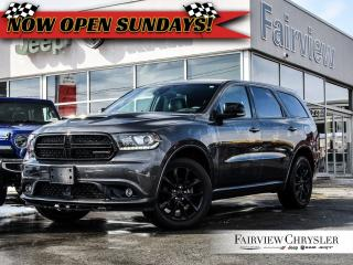 Used 2018 Dodge Durango GT l BLACKTOP PKG l BLINDSPOT l SUNROOF l for sale in Burlington, ON