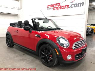 Used 2015 MINI Cooper Convertible Cooper Leather Automatic Low Kms for sale in St. George Brant, ON