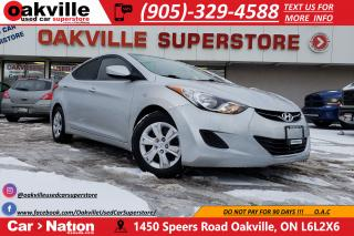 Used 2013 Hyundai Elantra L | LOW KMS | EXCELLENT CONDITION | ACCIDENT FREE for sale in Oakville, ON