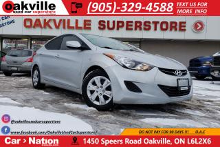 Used 2013 Hyundai Elantra L   LOW KMS   EXCELLENT CONDITION   ACCIDENT FREE for sale in Oakville, ON