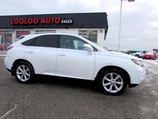 Used 2010 Lexus RX 350 RX 350 AWD NAVIGATION CAMERA CERTIFIED 2YR WARRANTY for sale in Milton, ON