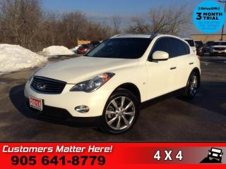 Used 2014 Infiniti QX50 Journey  AWD ROOF LEATH CAM 2X-P/SEATS HS BT for sale in St. Catharines, ON