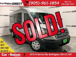 Used 2017 Ford Transit XLT| NAVI| 12-PASSENGER| BACK UP CAM| for sale in Burlington, ON