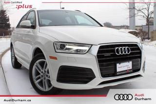 Used 2018 Audi Q3 2.0T Komfort Quattro + Nav | Cam | Sunroof for sale in Whitby, ON