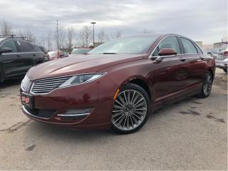 Used 2015 Lincoln MKZ Leather Navigation Sunroof Parking Assist Front for sale in St Catharines, ON