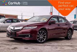 Used 2016 Acura TLX V6 Tech|AWD|Navi|Sunroof|Backup Cam|Bluetooth|R-Start|Blind Spot|Heated Front Seats|18Alloy for sale in Bolton, ON