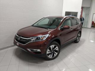 Used 2016 Honda CR-V Touring for sale in Chicoutimi, QC