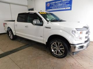 Used 2017 Ford F-150 LARIAT CREW LEATHER NAVI SUNROOF for sale in Listowel, ON