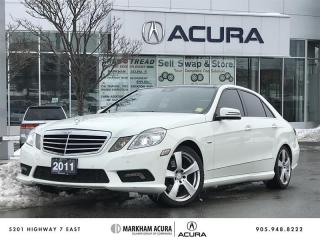 Used 2011 Mercedes-Benz E350 4MATIC Sedan 125th Anni Ed, Pano Roof, H/K Sound for sale in Markham, ON