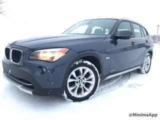 Used 2012 BMW X1 5028i 4 portes à traction intégrale for sale in Drummondville, QC