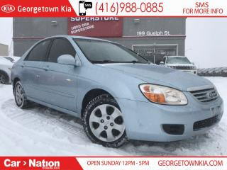 Used 2007 Kia Spectra LX | CLEAN CARFAX | USB | A/C | TINTS for sale in Georgetown, ON