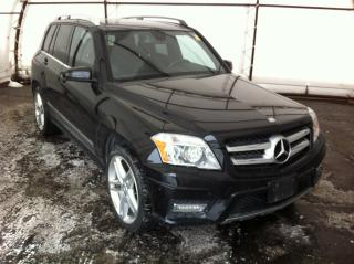 Used 2012 Mercedes-Benz GLK-Class DUAL PANE SUNROOF, HEATED SEATS, PARK SENSE, POWER SEAT. ALUMINUM WHEELS for sale in Ottawa, ON