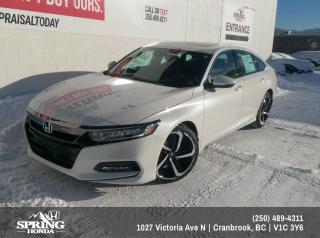 New 2019 Honda Accord Sport 1.5T $210 BI-WEEKLY - $0 DOWN for sale in Cranbrook, BC