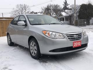 Used 2010 Hyundai Elantra GL for sale in Hamilton, ON