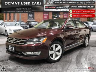 Used 2013 Volkswagen Passat 2.0 TDI Comfortline NAVI! B.UP CAM! DIESEL! for sale in Scarborough, ON