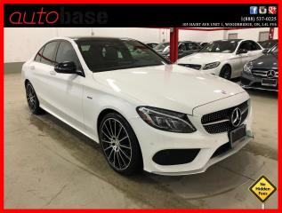 Used 2016 Mercedes-Benz C-Class C450 AMG 4MATIC PREMIUM LED 19'S CLEAN CARFAX for sale in Vaughan, ON