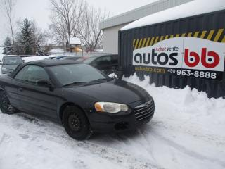 Used 2005 Chrysler Sebring for sale in Laval, QC