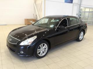 Used 2012 Infiniti G37 X X AWD TOIT CUIR for sale in Longueuil, QC